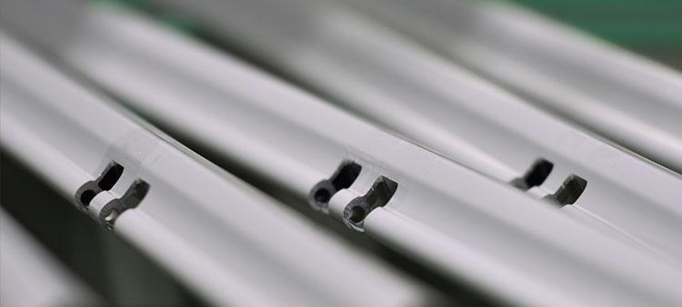 apt mechanisch bearbeitetes Aluminiumprofil