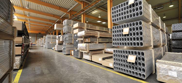 logistik aluminiumteile
