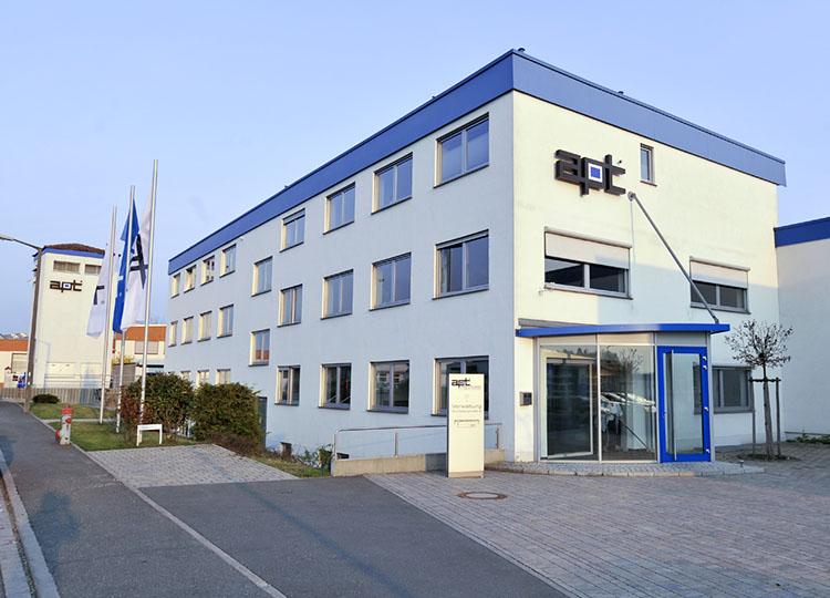Unternehmensgebäude von außen