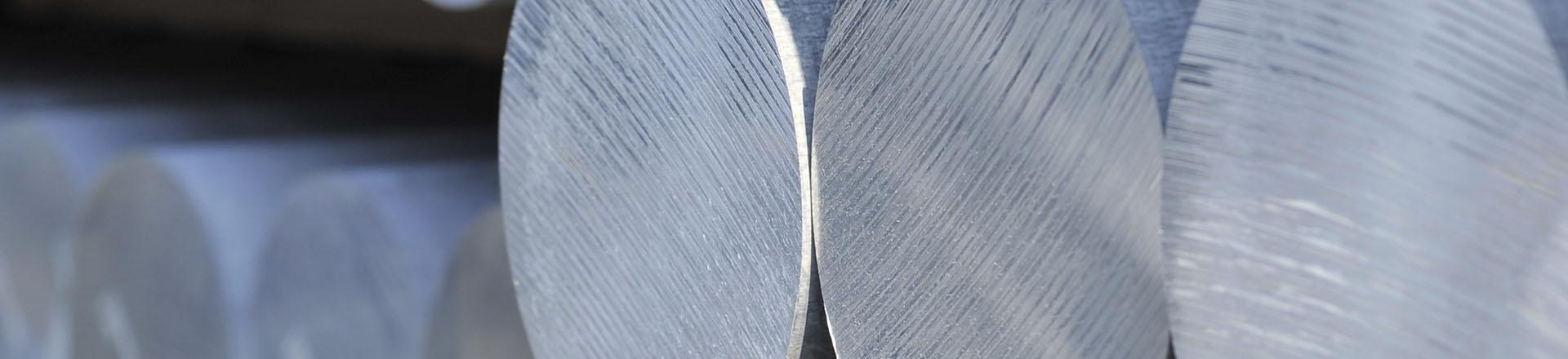 Nahaufnahme Aluminium Profil
